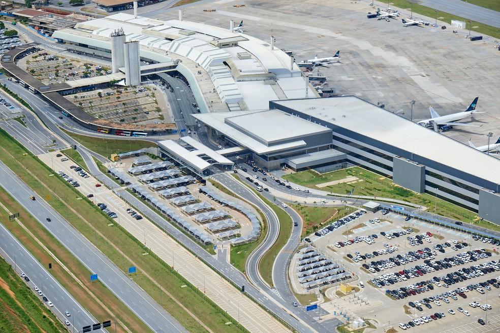 Aeroporto Internacional de Belo Horizonte terá rota rodoviária com o Sul de Minas — Foto: BH Airport/Divulgação