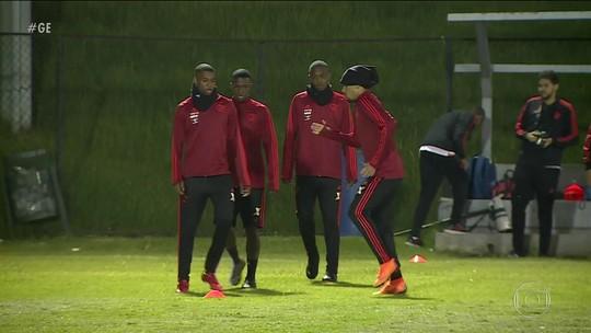 Flamengo faz últimos ajustes para encarar o Santa fé e o frio de Bogotá