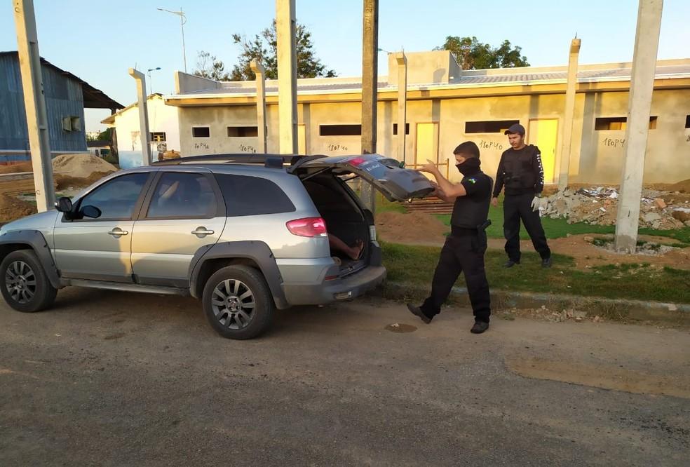Operação Vendetta é realizada em Rondônia para prender família — Foto: Polícia Civi/Divulgação