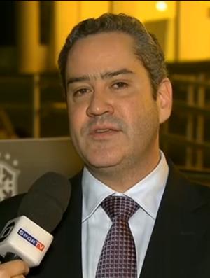 Diretor financeiro da CBF, Rogério Caboclo (Foto: Reprodução/SporTV)