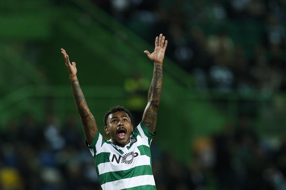 Wendel, atualmente no Sporting, é um dos alvos do Flamengo — Foto: Getty Images