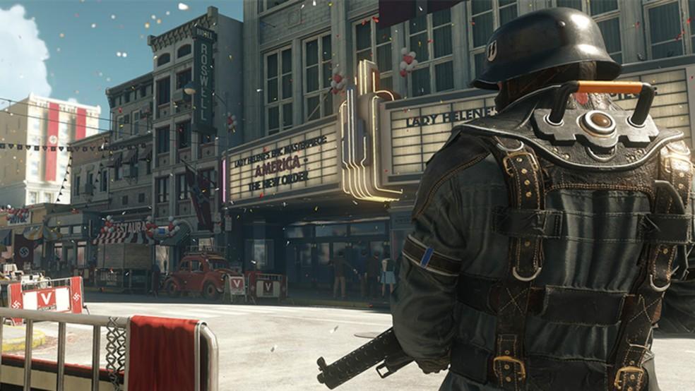 'Wolfenstein II: The Old Colossus' sai em outubro de 2017 (Fo Divulgação)