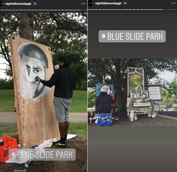 Mac Miller ganha vigília em sua terra natal (Foto: Reprodução/Instagram)