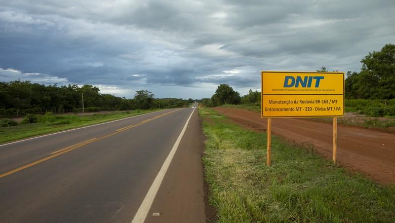 infraestrutura-rodovia-br-163 (Foto: Fernando Martinho)