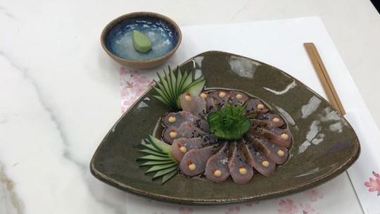 Tataki de Peixe Serra (Sororoca)