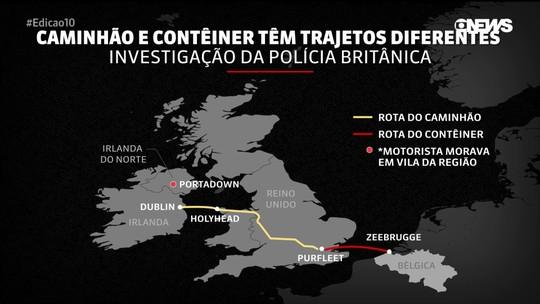 39 corpos encontrados em caminhão na Inglaterra eram de chineses