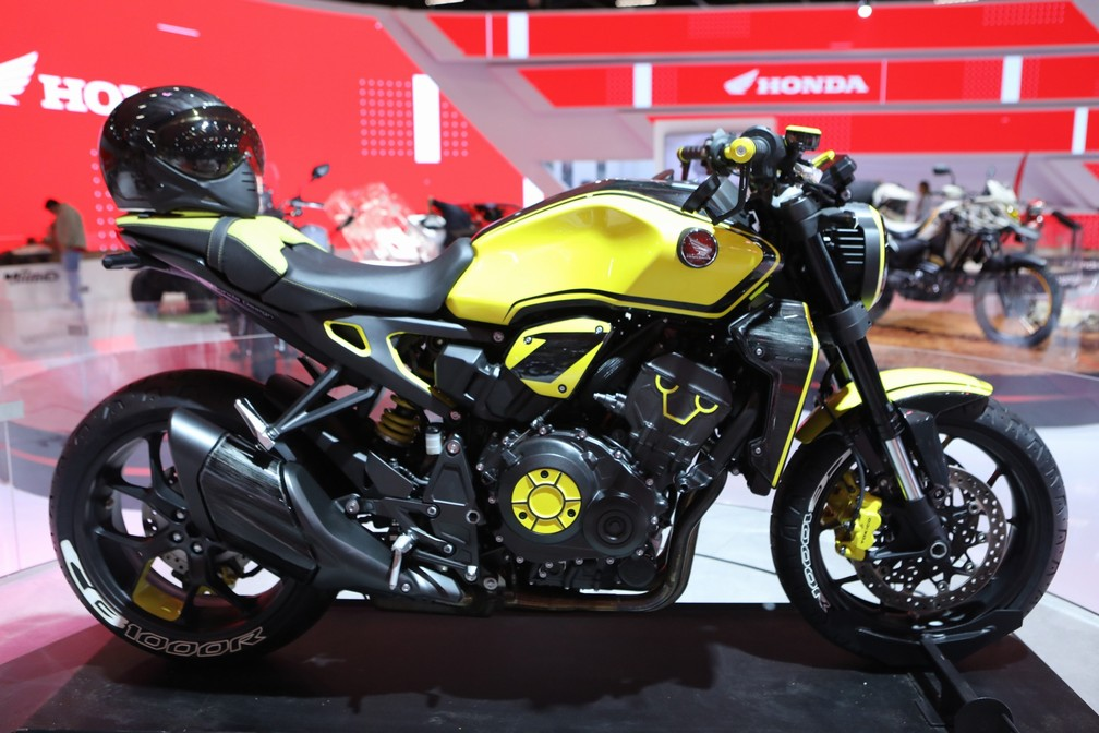Honda CB 1000R conceitual — Foto: Fabio Tito/G1