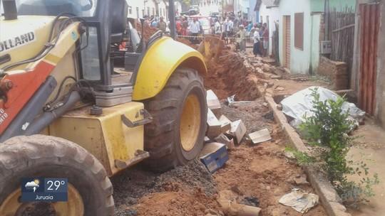 Funcionário de prefeitura morre soterrado em obra em Santo Antônio do Amparo, MG