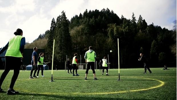 Speedgat, novo esporte criado a partir de inteligência artificial  (Foto: Reprodução/AKQA )