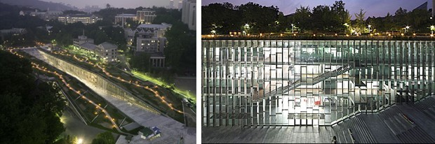Ewha Womans University, Seul – Dominique Perrault