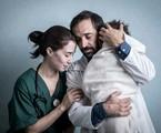 Julio Andrade e Marjorie Estiano em 'Sob Pressão' | Globo / João Cotta