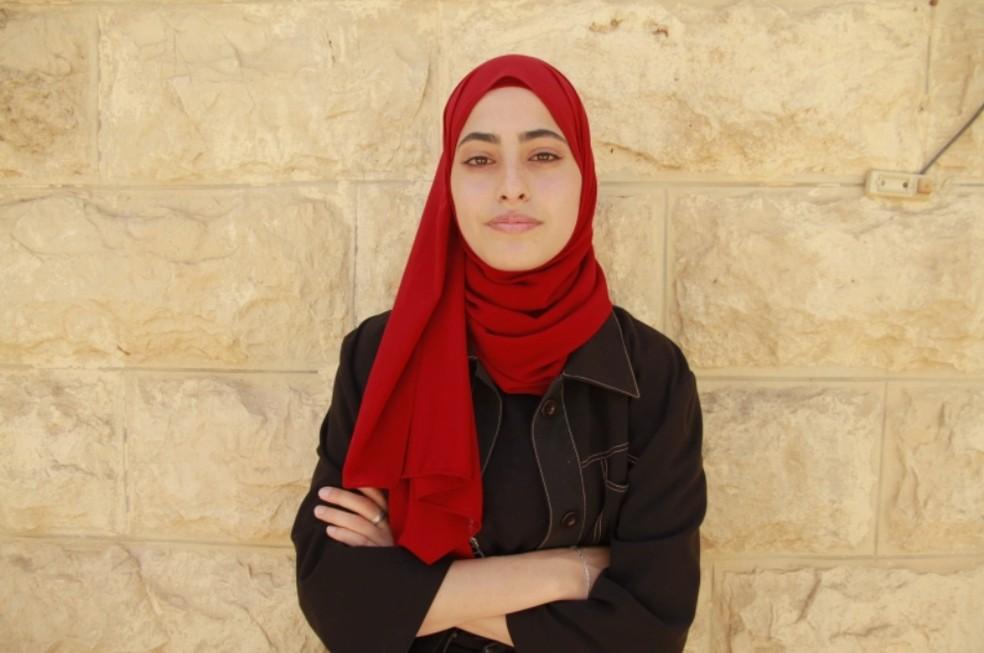 Muna al-Kurd — Foto: Reprodução/Al Jazeera