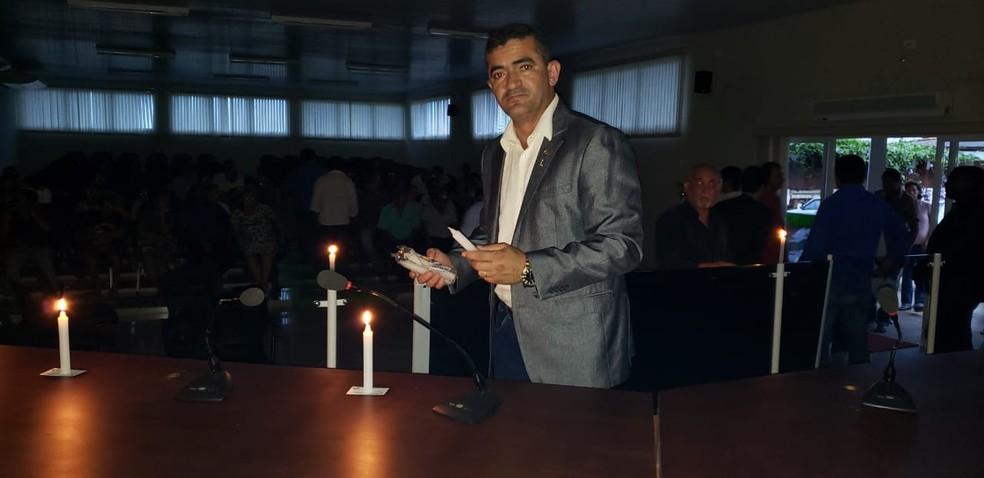 Deputado Elizeu Nascimento (DC) é o presidente da CPI — Foto: Divulgação