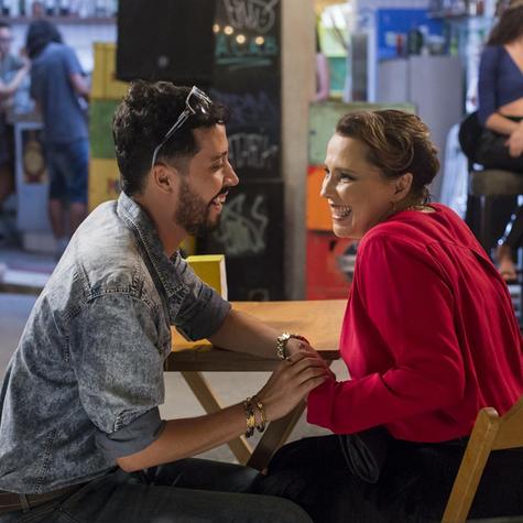 Arlindo Lopes e Ana Beatriz Nogueira em 'Malhação: Vidas brasileiras' (Foto: Marilia Cabral/TV Globo)