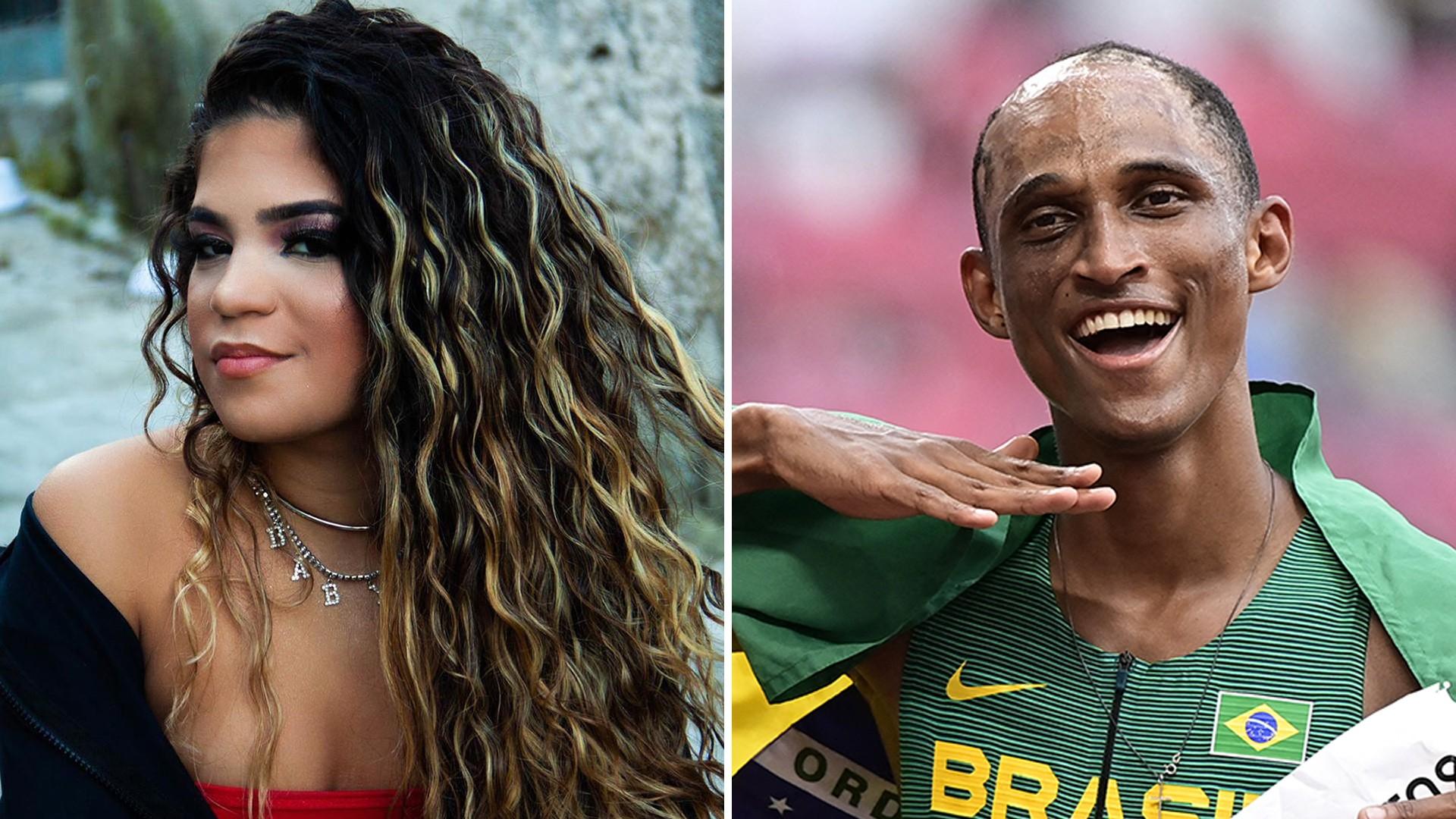 Alison dos Santos impulsiona 'Vulgo malvadão' e MC Jhenny investe em versão 'light'