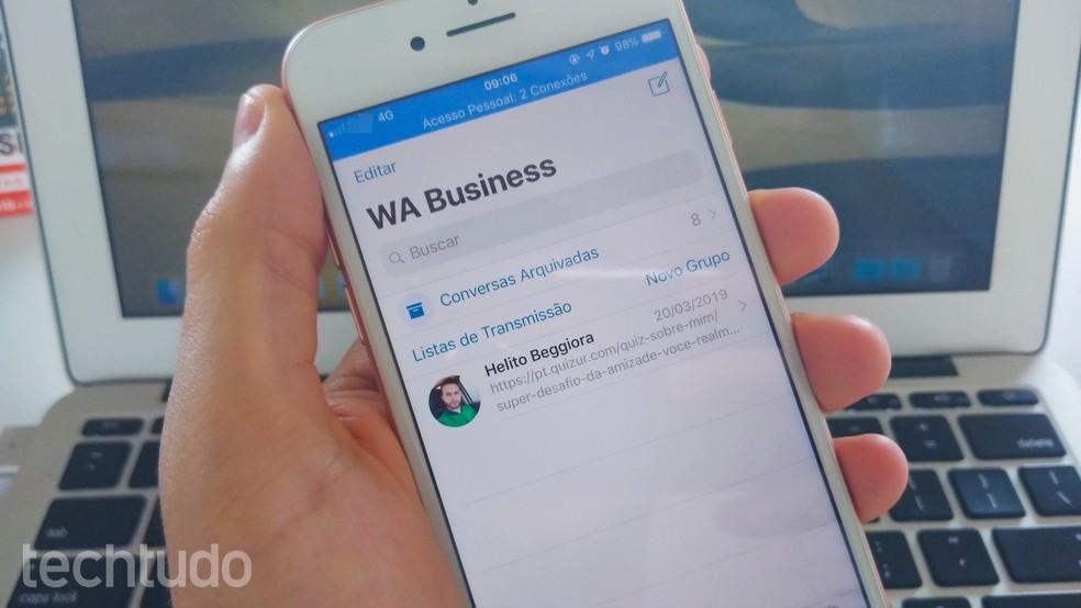 Como Baixar O Whatsapp Business No Iphone Ios E Criar Conta Comercial Redes Sociais Techtudo