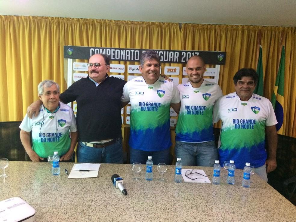 Comissão técnica da Seleção Sub-20 do RN divulga lista de convocados para Copa de Seleções Estaduais (Foto: Augusto Gomes/GloboEsporte.com)