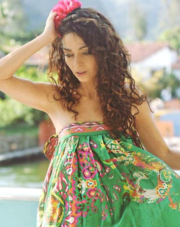 Claudia Ohana antes de voltar a ser morena (Foto: Reprodução/Instagram)