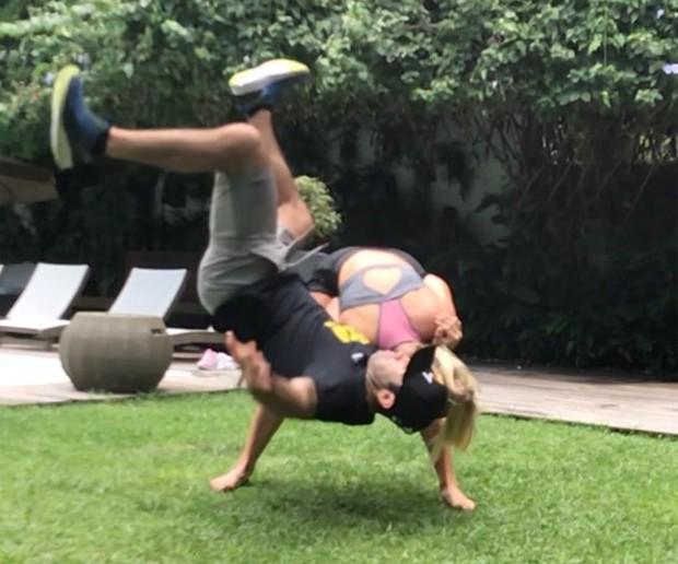 GIovanna Ewbank e Chico Salgado (Foto: Reprodução/Instagram)