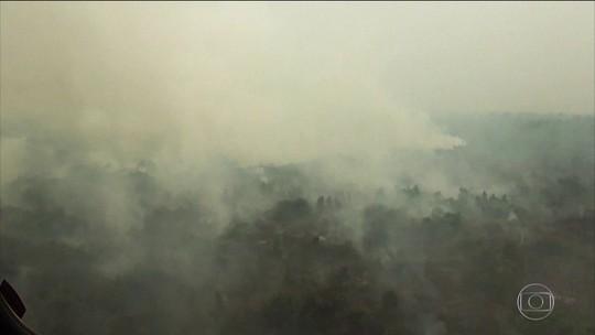 Queimadas espalham fumaça tóxica no sudeste da Ásia