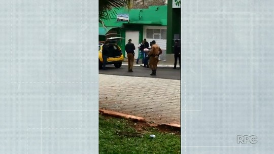 Dois homens são presos após tentativa de roubo a agência de cooperativa de crédito em Porecatu