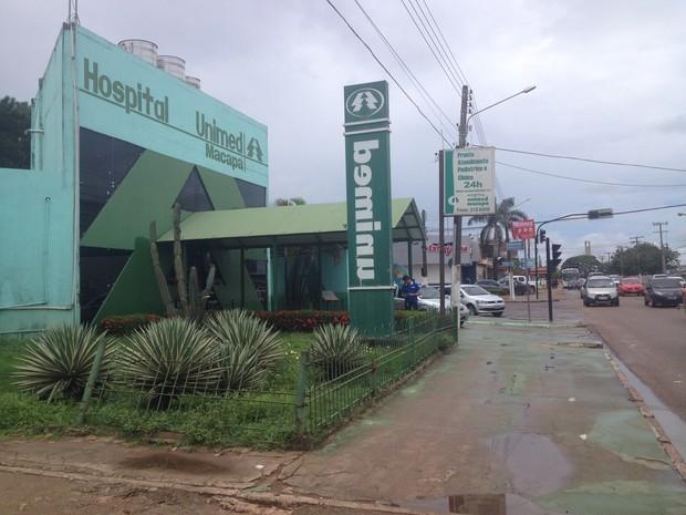 Unimed Macapá (Foto: Jorge Abreu/G1)