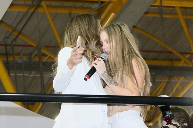 Luísa Sonza e Grazi Massafera (Foto: Manuela Scarpa e Marcos Ribas/Brazil News)
