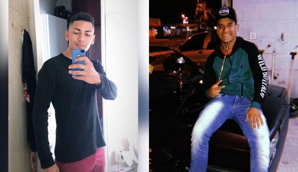 Phillipi Alissom (à esq.) e Vitor Vinicius (à dir.) foram mortos em Marília — Foto: Redes sociais/Reprodução