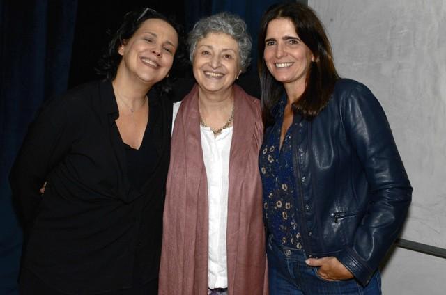 Ana Beatriz Nogueira, Ana Lúcia Torre e Malu Mader (Foto: Cristina Granato)