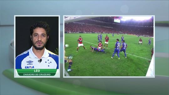 Ansioso para final da Copa do Brasil, Léo elogia postura do Cruzeiro no Brasileirão