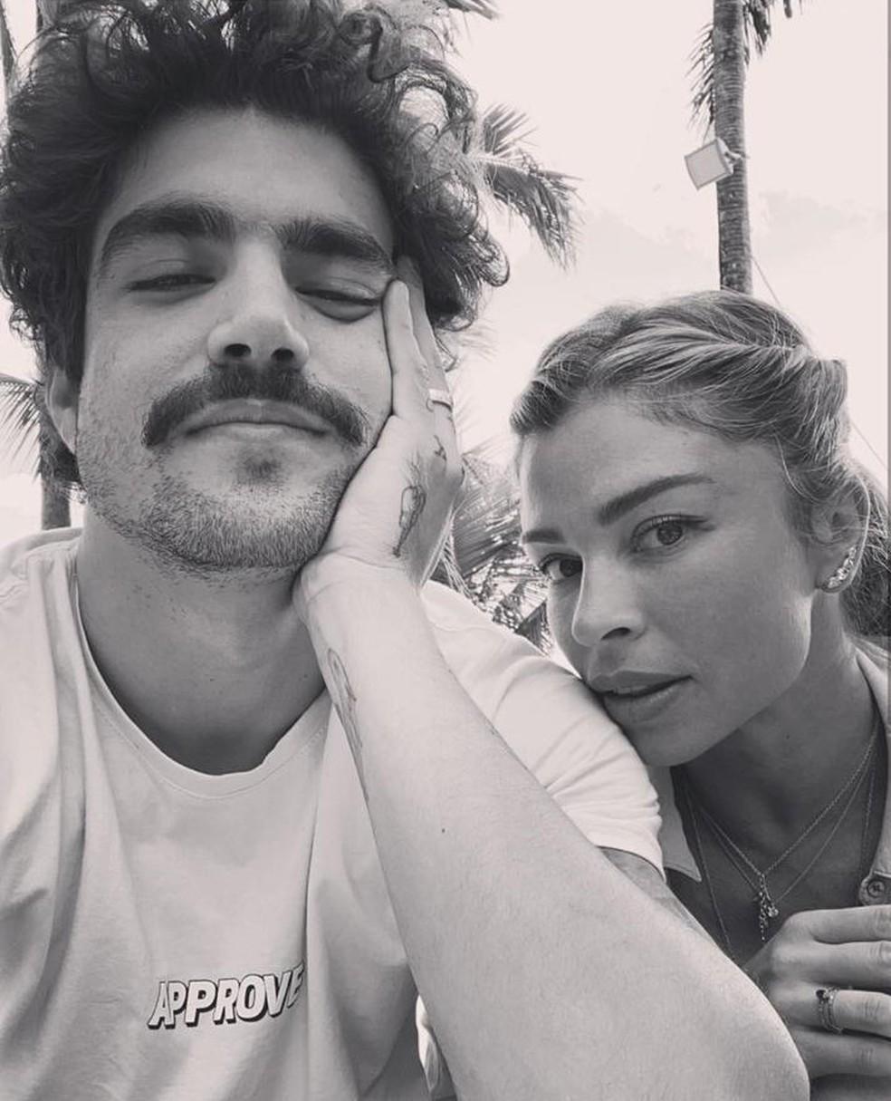 Caio Castro e Grazi — Foto: Reprodução/Instagram