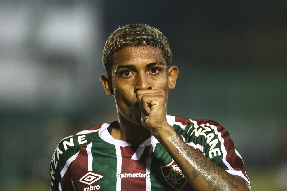 John Kennedy, atacante do Fluminense — Foto: Lucas Merçon FFC