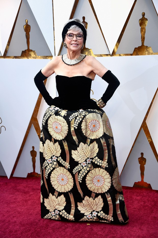 Rita Moreno no Oscar de 2018 (Foto: Getty Images)