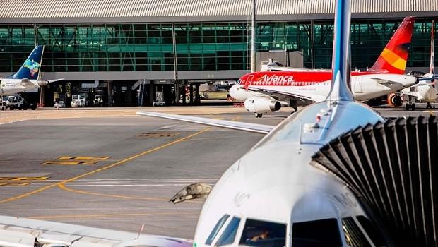 Aviões no aeroporto de Brasília, aviação, avião, avianca (Foto: Reprodução/Instagram)