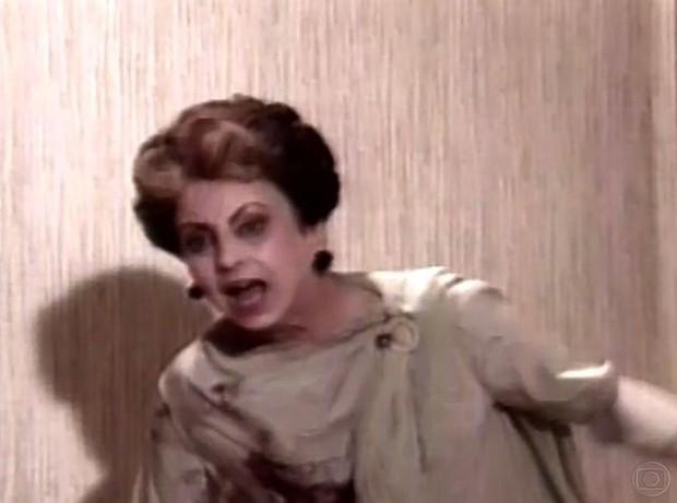 Beatriz Segall em Vale Tudo (1988) (Foto: Frame de vídeo/TV Globo)