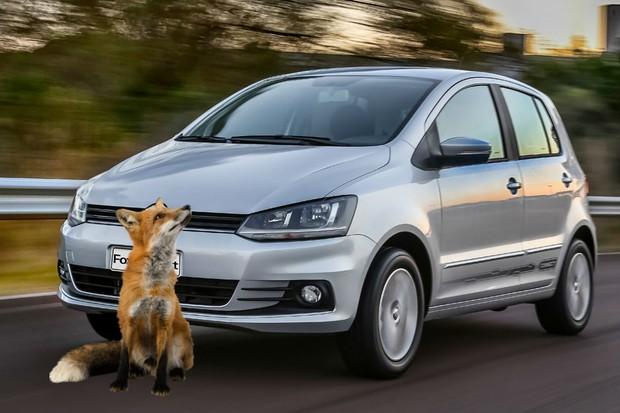 VW Fox se transformou em VW Raposa (Foto: Divulgação)