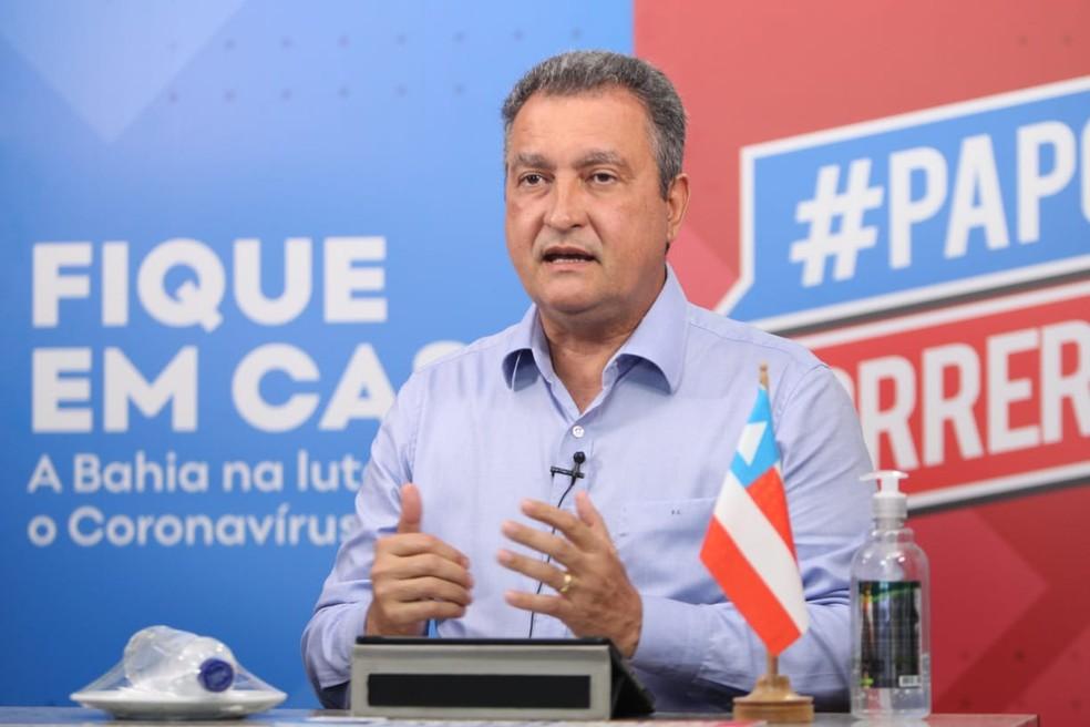 Rui Costa, governador da Bahia — Foto: Fernando Vivas / GOVBA