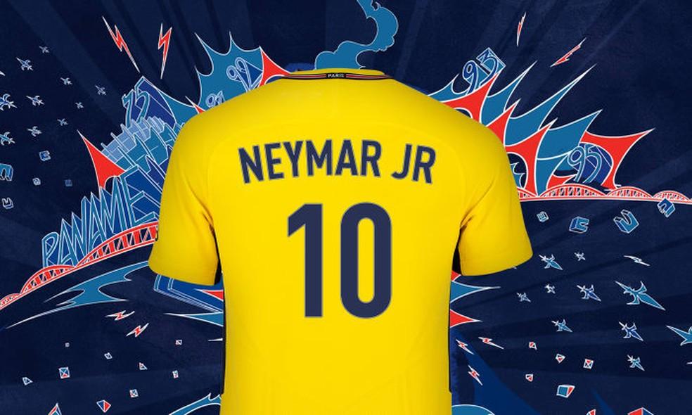 Craque utilizará a camisa 10 no Paris Saint-Germain (Foto: Reprodução)