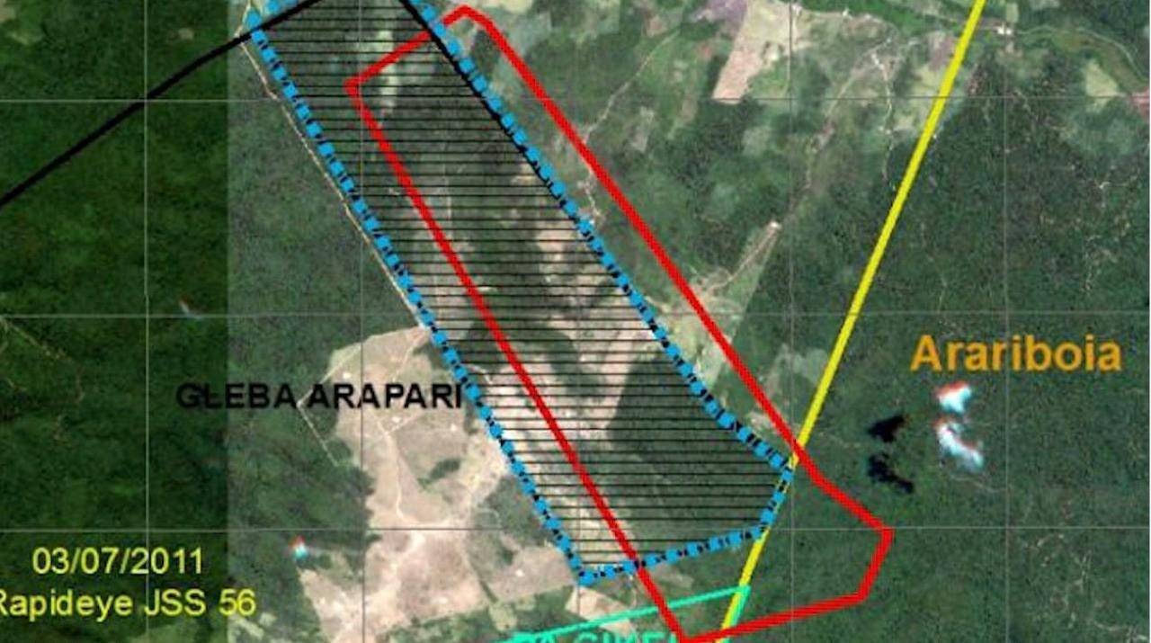 Fotos em área indígena mostram desmatamento causado por fraudes  em manejos florestais no MA thumbnail