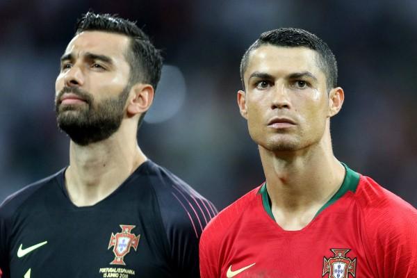 Rui Patricio e Cristiano Ronaldo (Foto: Getty Images)