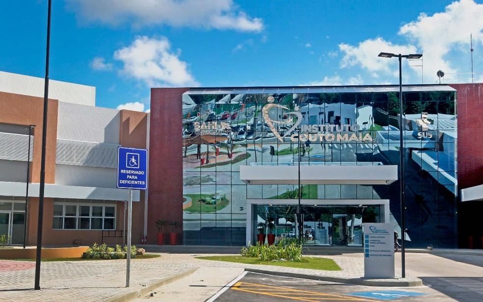 Instituto Couto Maia, em Salvador — Foto: Carol Garcia/GovBA