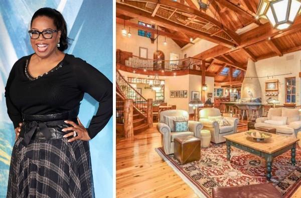 A propriedade de 30 milhões de reais comprada por Oprah Winfrey (Foto: Divulgação)