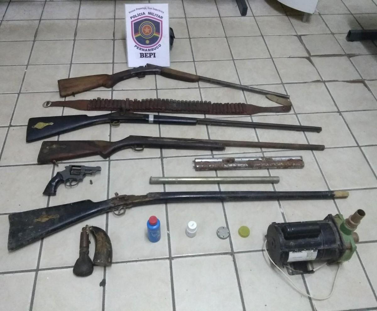 Homem é detido após assustar população com tiros em estradas de Agrestina