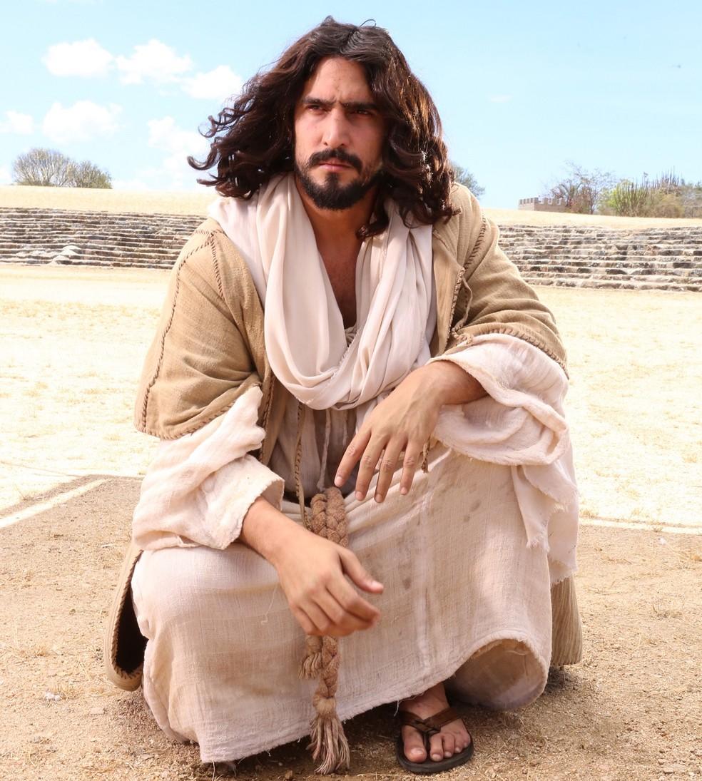 Renato Góes será Jesus pela primeira vez no espetáculo (Foto: João Tavares/Divulgação)