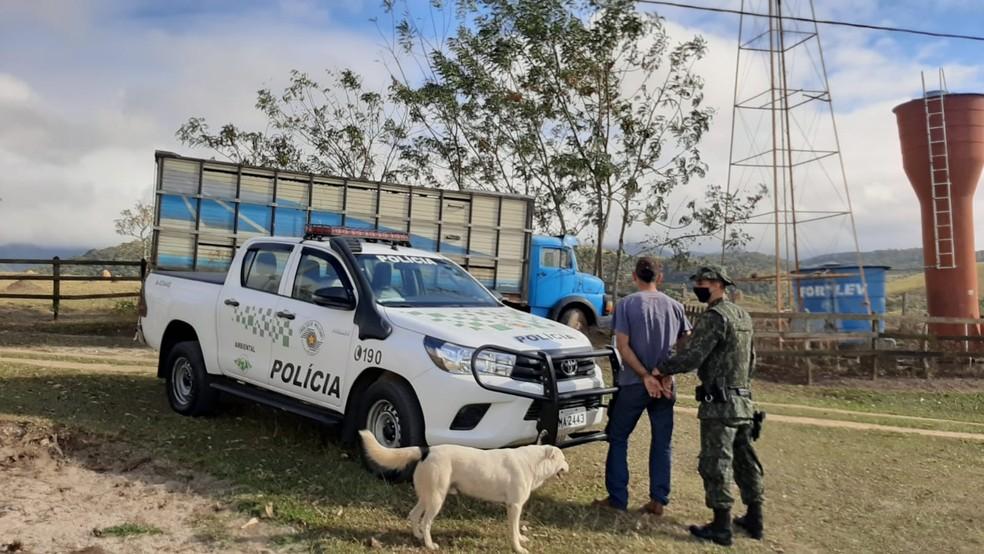A quadrilha segue sendo investigada — Foto: Divulgação/Polícia Ambiental