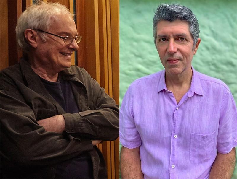 Francis Hime e Leoni alinhavam a primeira parceria a partir de letra sobre a alegria