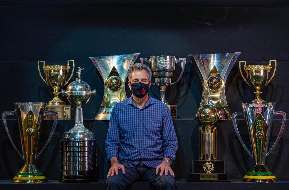 Rodolfo Landim passa a limpo mandato no Flamengo
