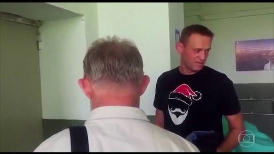 Principal adversário de Putin pode ter sido vítima de envenenamento na prisão