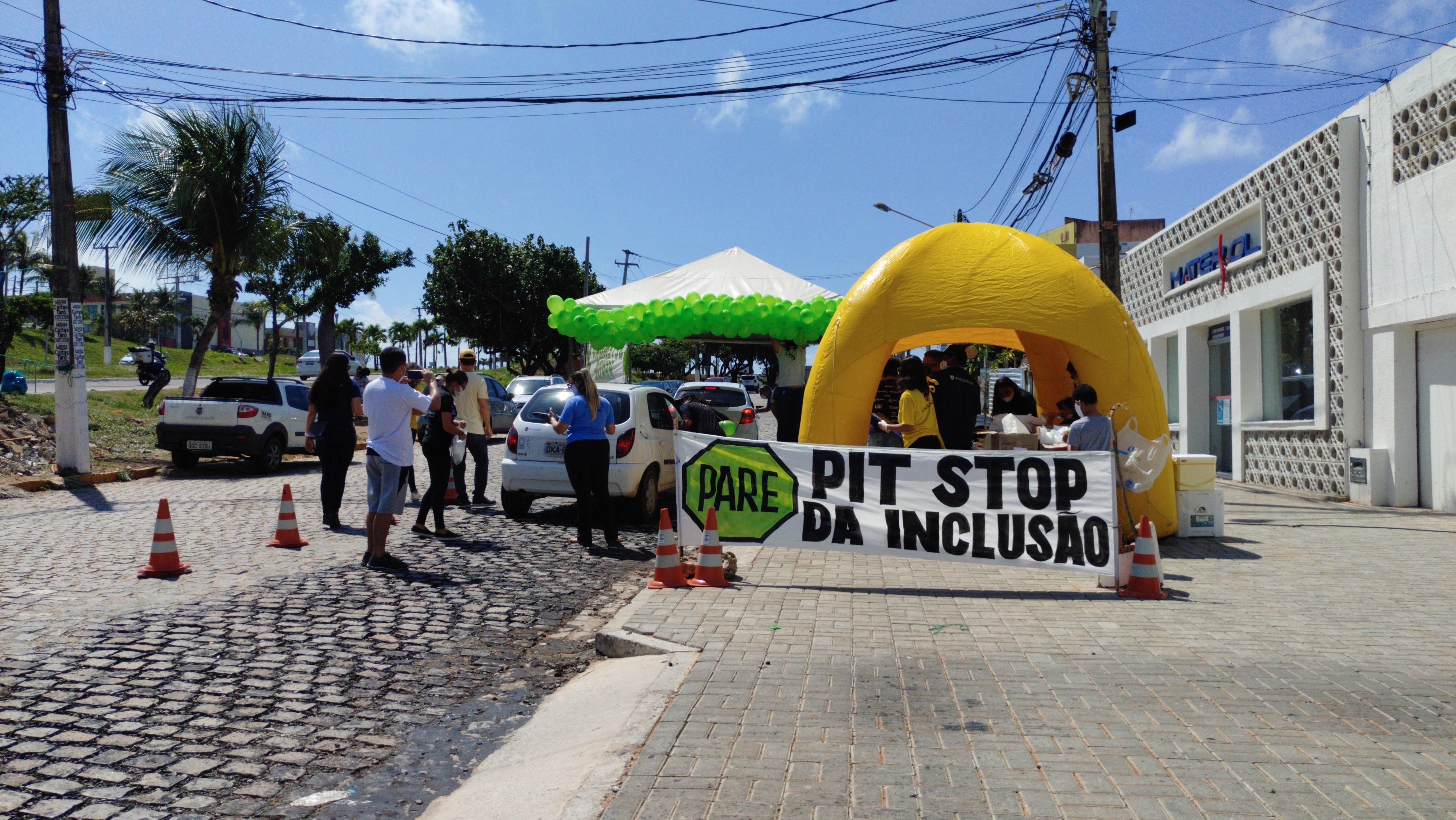 'Pit Stop da Inclusão' marca o Dia Nacional da Luta da Pessoa com Deficiência em Natal