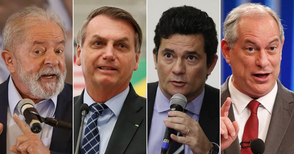 Lula tem 41%; Bolsonaro, 23%; Moro, 7%; e Ciro, 6% no 1º turno, aponta  pesquisa Datafolha para a eleição de 2022 | Política | G1